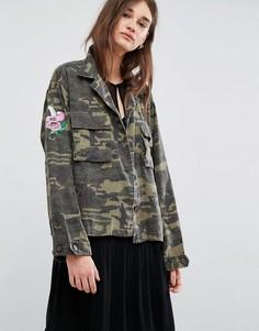 Куртка в стиле милитари Gestuz Milla - Зеленый