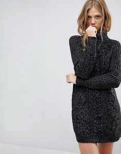 Платье-водолазка QED London - Серый
