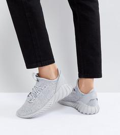Серые кроссовки adidas Originals Tubular Doom Sock - Серый