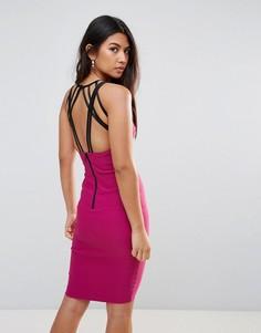Платье миди Vesper - Фиолетовый