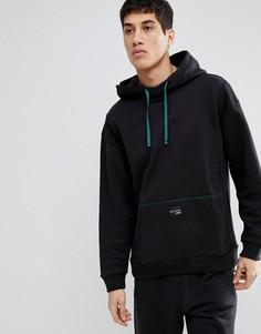 Черный oversize-худи adidas Originals EQT CD6856 - Черный