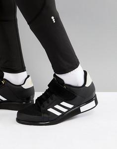 Черные кроссовки adidas Training Power Perfect III BB6363 - Черный