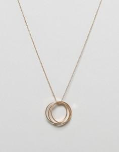 Ожерелье с подвеской Nylon - Золотой