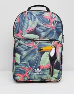 Рюкзак с тропическим принтом adidas Originals - Мульти