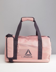 Розовая спортивная сумка Reebok - Розовый