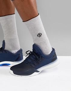 Темно-синие кроссовки adidas Basketball x Harden Vol 1 Challenger AH2120 - Темно-синий