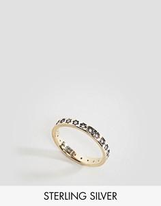 Позолоченное кольцо Regal Rose - Золотой