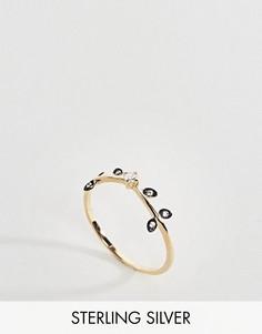 Кольцо с кристаллами Regal Rose - Золотой