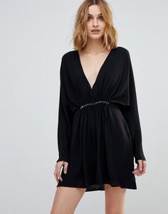 Платье мини Keepsake Hurricane - Черный