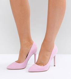 Туфли на высоком каблуке с острым носом ASOS PARIS - Розовый