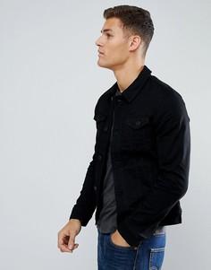 Черная джинсовая куртка Tom Tailor - Черный