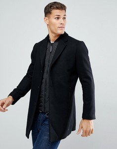 Черное двухслойное пальто Tom Tailor - Черный