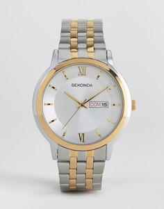 Наручные часы из разных металлов Sekonda - Серебряный