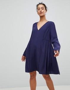 Свободное платье See U Soon - Темно-синий