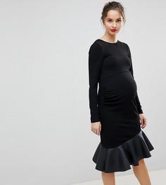 Платье мини ASOS MATERNITY - Черный