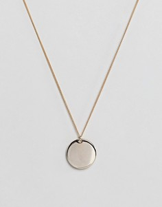 Ожерелье ограниченной серии с подвесками - Золотой Asos