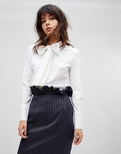 Рубашка с галстуком-бабочкой Unique 21 - Белый