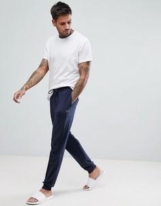Темно-синие штаны для дома BOSS By Hugo Boss - Темно-синий