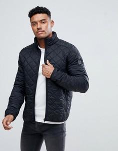 Черная стеганая куртка Blend - Черный