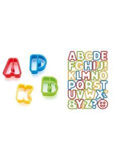 Формочки азбука DELICIA KIDS (34 шт.) tescoma