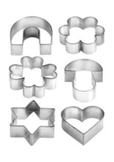 Формочки на кольце DELICIA (6 шт.) tescoma