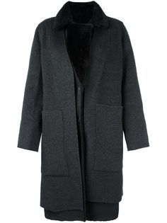 двусторонее пальто Yves Salomon