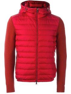 куртка-пуховик с панельным дизайном Moncler