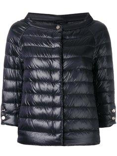 куртка-пуховик с укороченными рукавами Herno
