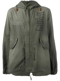 куртка с капюшоном и принтом Mr & Mrs Italy