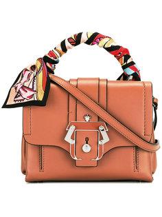 сумка-тоут с разноцветным шарфом Paula Cademartori
