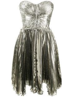 плиссированное платье Loli без бретелек Maria Lucia Hohan