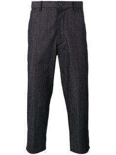 укороченные джинсы  Comme Des Garçons Shirt