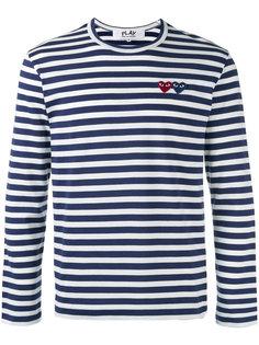 полосатая футболка в полоску Comme Des Garçons Play