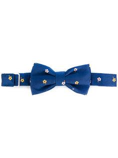 галстук-бабочка с вышитыми цветами Fefè