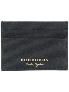 визитница с принтом логотипа Burberry