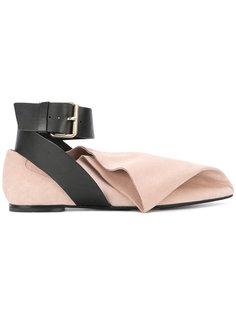 туфли с ремешком на щиколотке MSGM