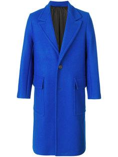свободное пальто на пуговицах Ami Alexandre Mattiussi