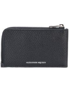кошелек на молнии Alexander McQueen