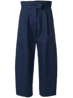 укороченные расклешенные брюки с высокой талией Carven