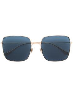 массивные квадратные солнцезащитные очки Dior Eyewear