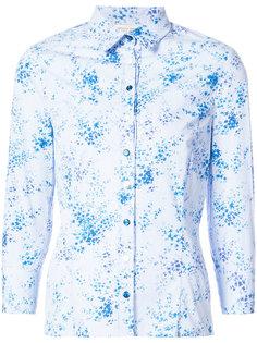 приталенная классическая рубашка  Carolina Herrera