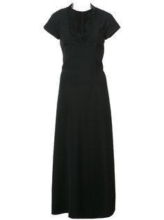 платье с отделкой  Carolina Herrera