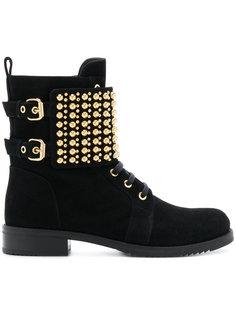 studded ankle boots Loriblu