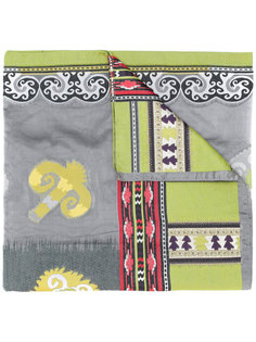 платок с ацтекским принтом Etro