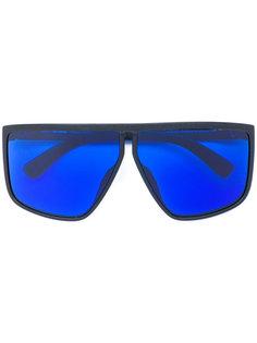 крупные солнцезащитные очки-авиаторы Mykita