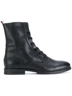 ботинки в стиле милитари на молнии Tommy Hilfiger