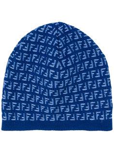 шапка с монограммным узором Fendi