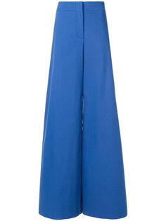 брюки-палаццо с высокой талией Emilio Pucci