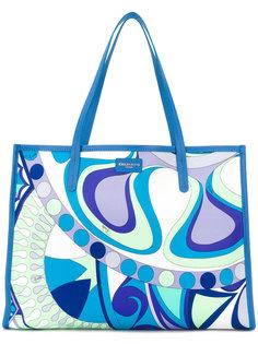 сумка-тоут с абстрактным принтом  Emilio Pucci