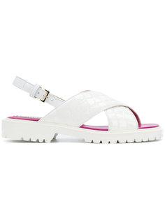 сандалии с дизайном с ремешками Emilio Pucci